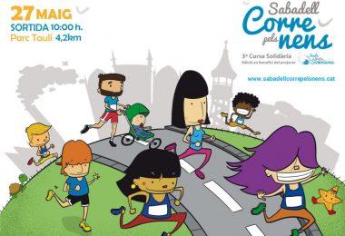 27-Maig-2018 3º Edició de la Cursa Sabadell Corre Pels Nens