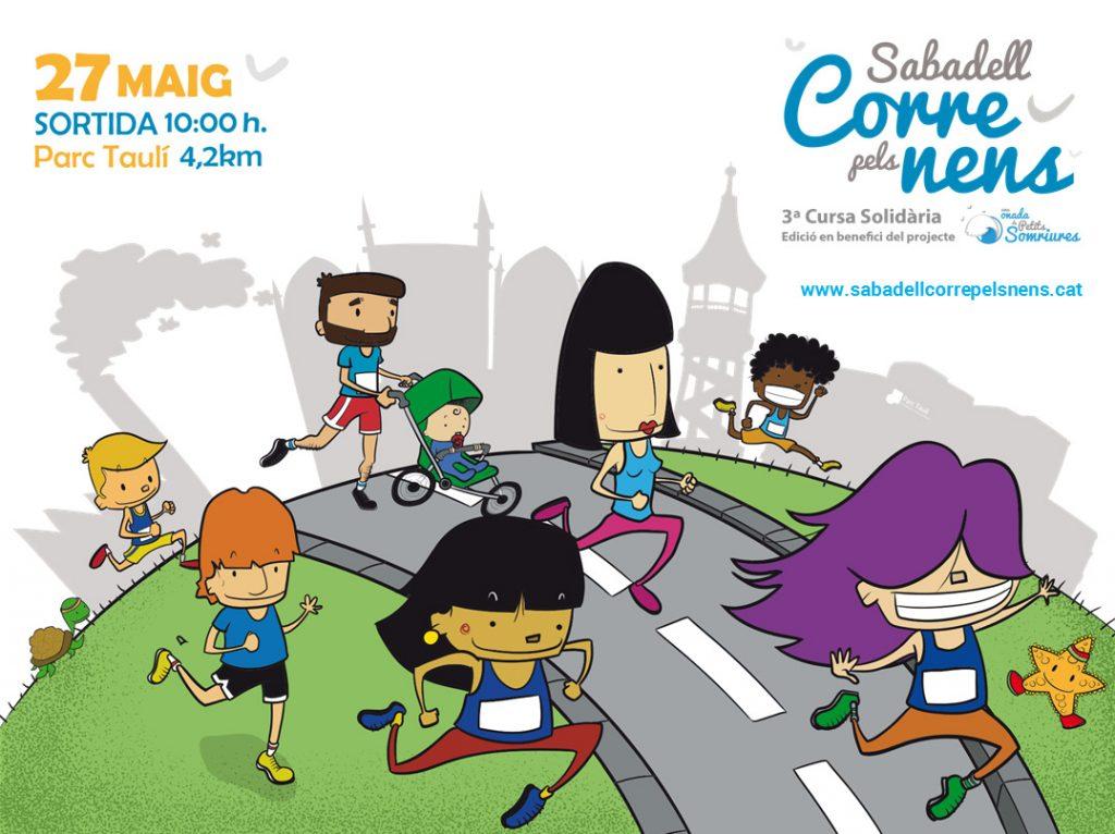 """27-Mayo-2018 3ª Edición de la carrera """"Sabadell Corre Pels Nens"""""""