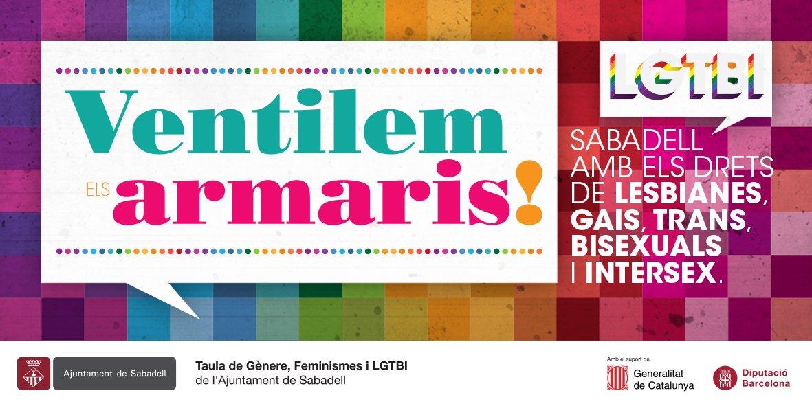 17-MAIG-2018  Dia Internacional contra l'Homofòbia, la Bifòbia i la Transfòbia.