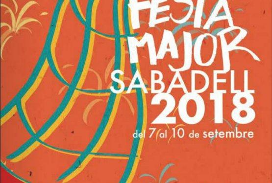 FESTA MAJOR DE SABADELL 2018 del 7 al 10 de setembre