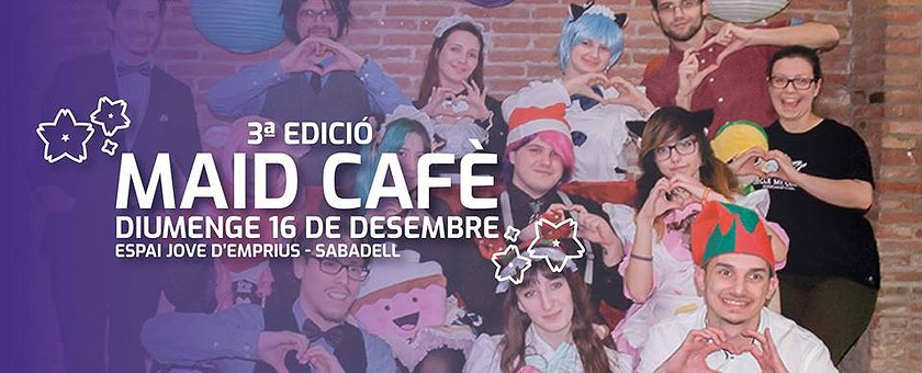 16-12-2018 Maid Cafè – 3º Edició
