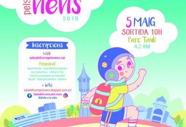 5 Maig 2019: IV Cursa Solidària Sabadell Corre pels nens