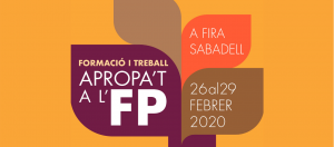 APROPA'T A L'FP 26 al 29 de febrer de 2020